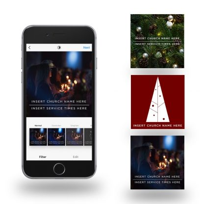 Free Christmas Social Media Graphics