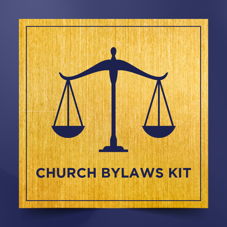 Church Bylaws Kit