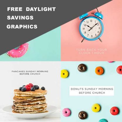 Free Daylight Savings Graphics