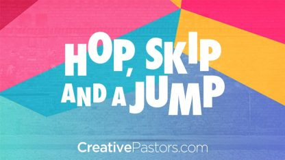 Hop, Skip, and a Jump: Series Graphic