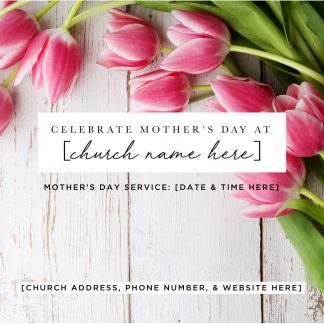 Mother's Day Social Media Graphics