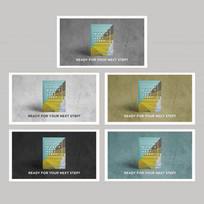 Next Step Booklet Side Screen Slide