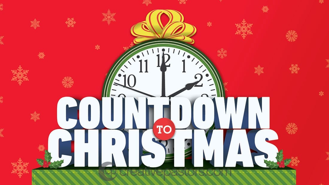 Countdown to christmas 2020 schedule