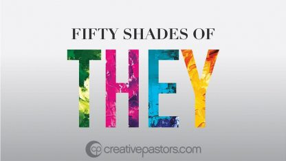 Fifty Shades of They: Series Graphic