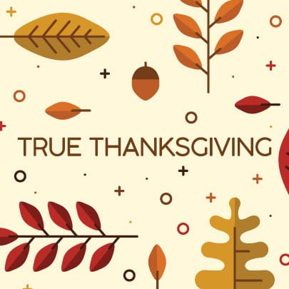 True Thanksgiving