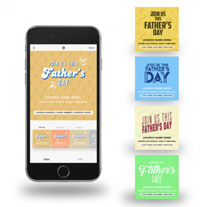 Father's Day Social Media Graphics